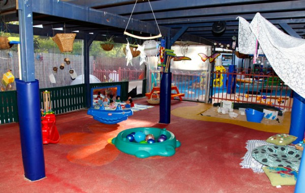 Fun play areas