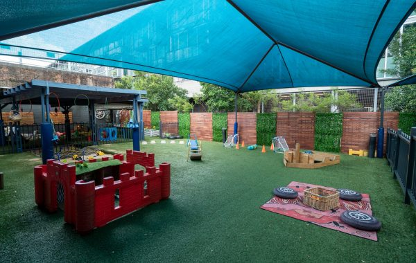 Toddlers Outdoor Area